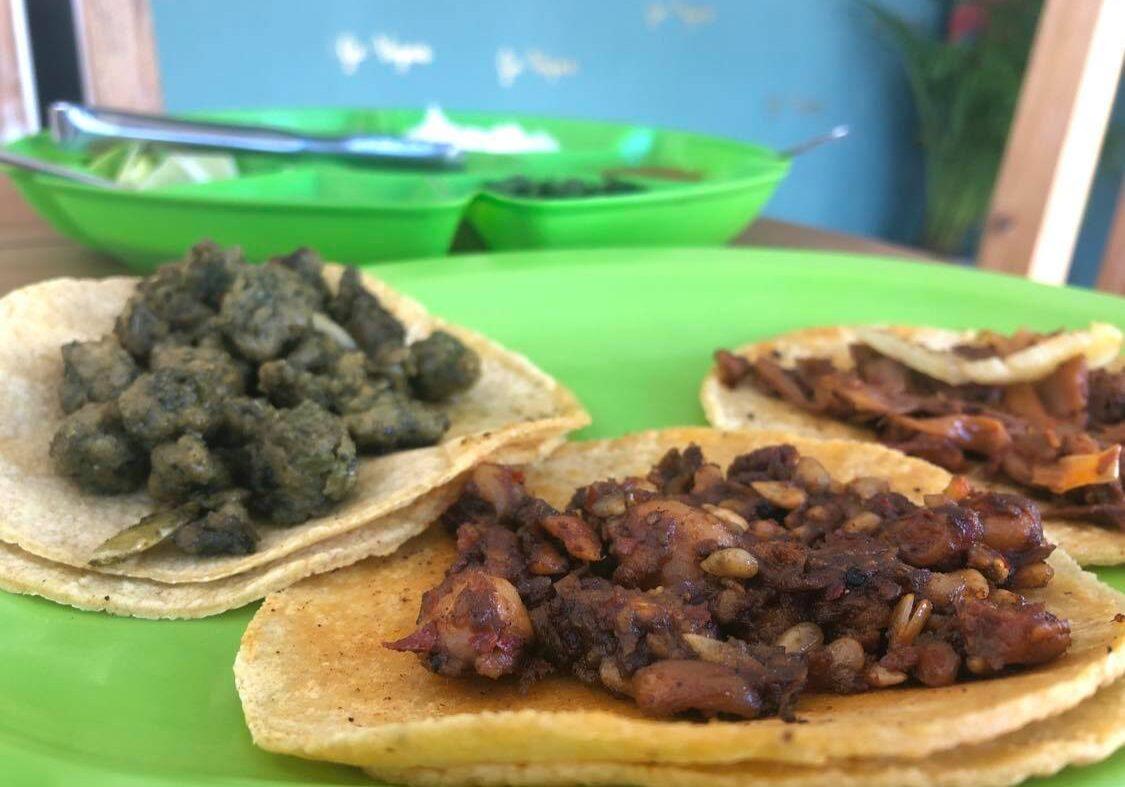 vegan tacos in tulum